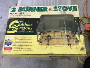 2 Burner Camping Stove Outdoor Connection Brand