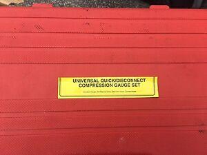 U.S General universal quick/disconnect compression gauge set