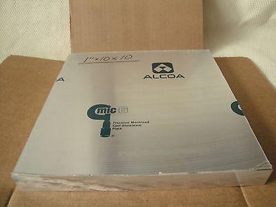 Mic- 6 Cast Tooling Aluminum Plate 1pc. X 1 X 10 X 10