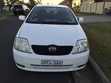 2001 Toyota Corolla Hatchback Parramatta Parramatta Area Preview