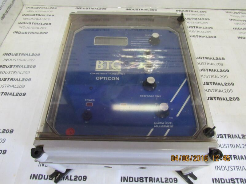 BTG CONSISTENCY TRANSMITTER 885-0512 USED