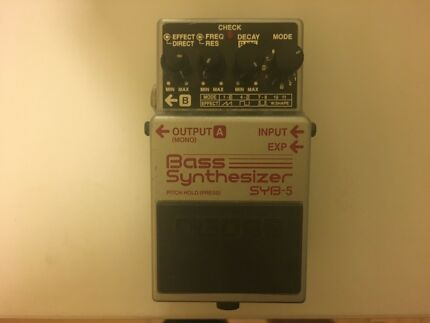 BOSS SYB-5 Bass Synthesizer Effect Pedal