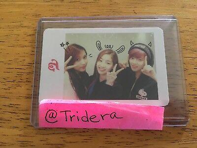 Twice The Story Begins 1st Mini Album Group Photo Card, Mina Dahyun Jeongyeon
