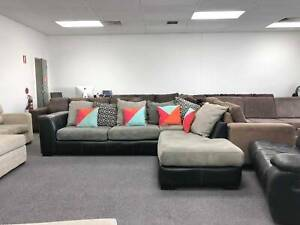 DELIVERY TODAY COMFORTABLE MODERN GREY L shape sofa Belmont Belmont Area Preview