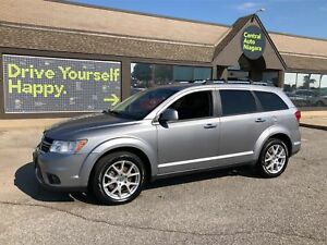 2017 Dodge Journey GT/ 7 PASSENGER / AWD/ LEATHER/ HEATED SEATS