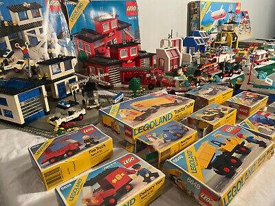 HUGE VTG 1980's Legos Lot - Legoland, Classic Town - WHOLE CHILDHOOD COLLECTION!