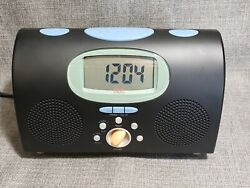 Philips - Dual Alarm Clock - Radio - LCD Display - Tested - Back To School - Exc