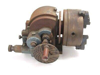 Yuasa 550-032 Universal Dividing Head 8 Chuck 3-jaw
