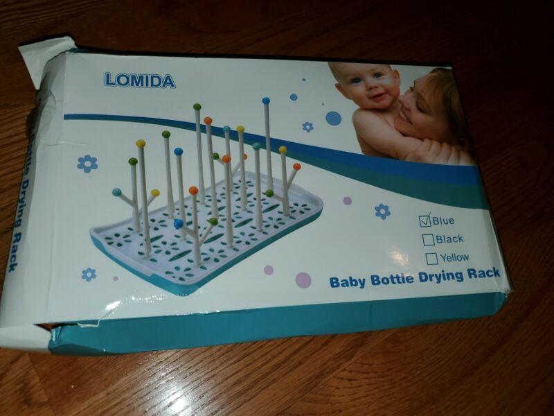 lomida Bottle Drying Rack new opened dameged box never used