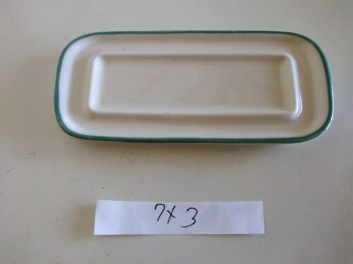 Pfaltzgraff USA Juniper 7 Butter Dish Retired 1995 NO LID - $5.50