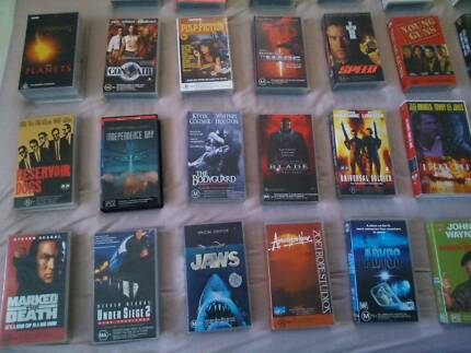 30 assorted vhs