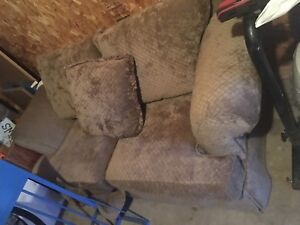 Lightly used Micro-Suede couch