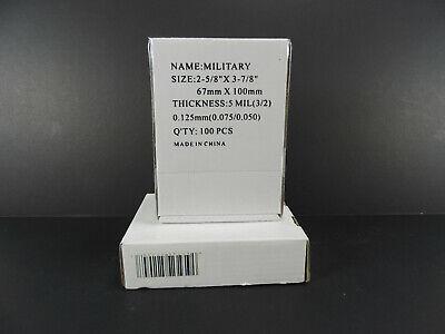 300 Military Id Card Laminating Laminator Pouches