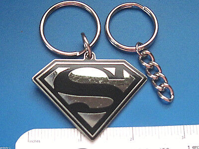 Additional Chain - SUPERMAN - keychain / comes with additional heavy duty key chain  GIFT BOXED