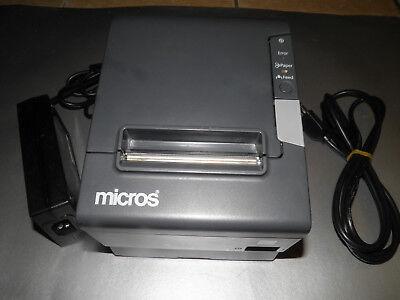 Micros Epson Tm-t88v M244a Thermal Pos Receipt Printer Power Supply Idn