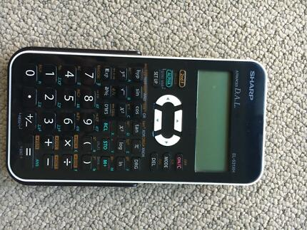 SHARP Advanced D.A.L. Scientific calculator EL-531XH