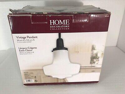 Schoolhouse Vintage Light Pendant Milk Glass Flying Saucer Hanging Lamp 523873 Milk Glass Hanging