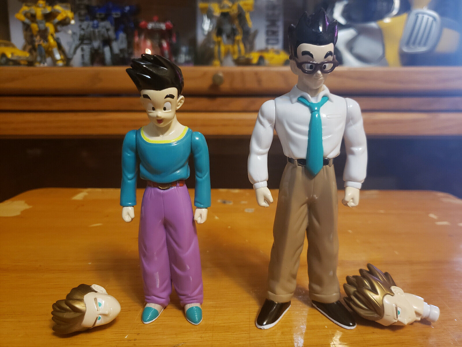 Character:Super Saiyan Gohan and Goten Vol 35 (complete):BANDAI Dragonball Z  and Dragon Ball GT super battle collection AB Toys & Irwin