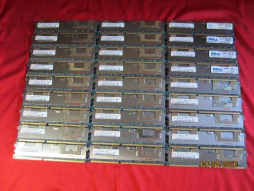 Lot of 27pcs Hynix 4GB 2Rx4 PC3-10600R DDR3-1333Mhz ECC/REG Desktop ServerMemory