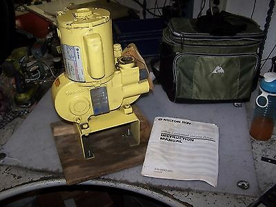 New Milton Roy 14 Hp Controlled Volume Pump 115 Vac 18 Gph 1 Phase Model Ra12