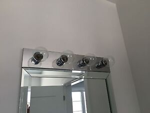 Set of 2 Light Fixtures as shown in pictures