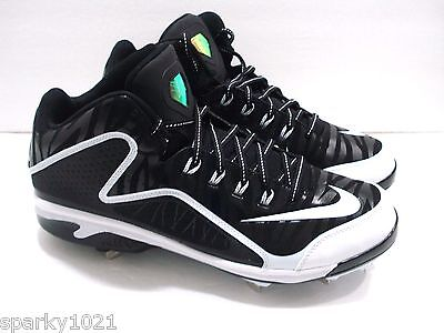 6144e58b4 Nike Air 616258-001 Swingman MVP 2 Mid Metal Baseball Men s Cleats Size 13  NEW