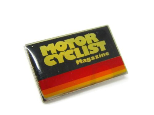 Motorcyclist Magazine Pin Vintage Collectible