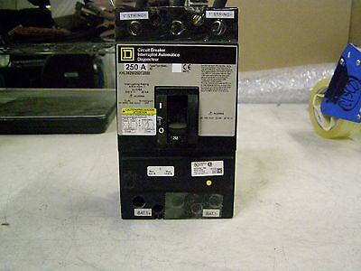 Square D Khl Series 250a 600vdc 3 Pole Circuit Breaker Khl3625025dc2350