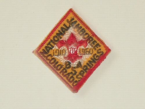 1960 national jamboree hat patch