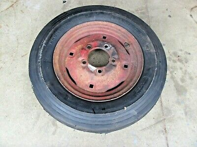 Farmall Cub Ihc Front Rim Wheel And New Tire Flaw On Rim