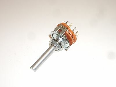 Philmore 30-15204 Rotary Switch 2 Pole 4 Position Open Frame Mbb Shorting