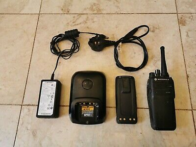 Motorola DP3400 UHF Hand Held Radio