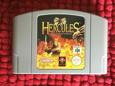 HERCULES N64****PAL VERSION****OFFICIAL NINTENDO CARTRIDGE ONLY