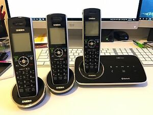 Uniden ELITE 9135 +2 DECT Cordless Phone set with Ans Machine Gilmore Tuggeranong Preview
