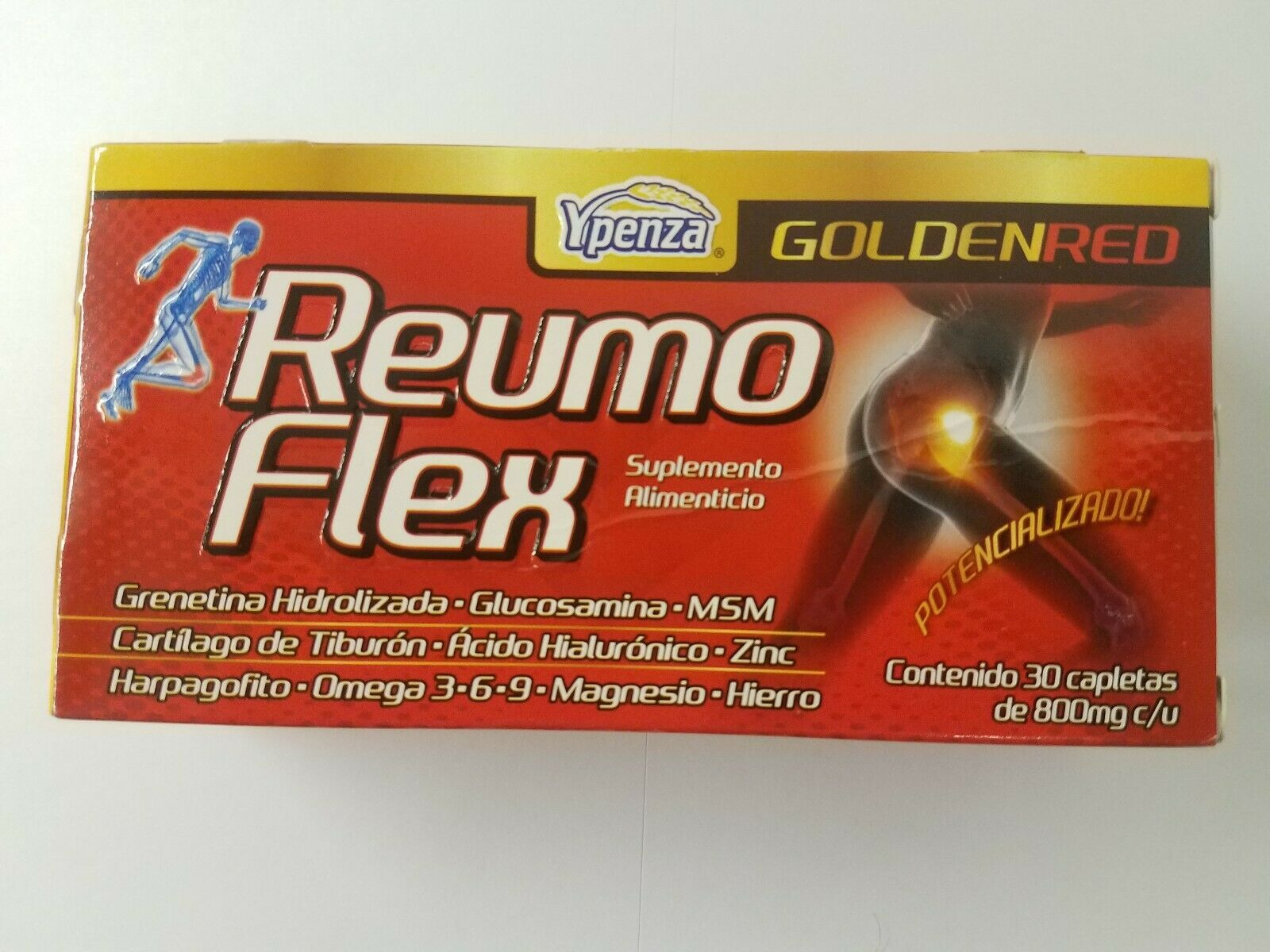 Reumo Flex GOLDEN RED Relieves Joints Artritis and Ciatica pain Articulaciones 1