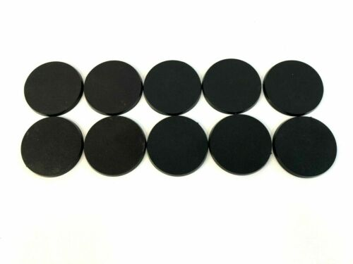 Lot Of 10 60mm Round Bases For Warhammer 40k & AoS GW Monstrous Bitz