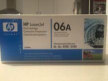 TWO HP Laser Jet Print Cartridges, C3906A South Fremantle Fremantle Area Preview