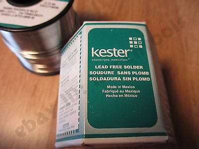 1 Pound Roll .031 Kester Silver Solder Sn96.5ag03.5 Sld Solid Core Eutectic Usa