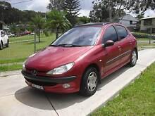 2001 Peugeot 206 Windale Lake Macquarie Area Preview