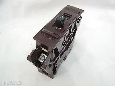 Wadsworth 15 Amp Single Pole Circuit Breaker Big Body Small Lug 15a