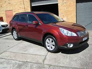 2009 SUBARU OUTBACK MY10 2.5 PETROL REG 11/16 GOOD SERVICE BOOKS Heidelberg West Banyule Area Preview