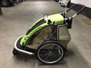 Croozer 737 Bike Trailer / Jogging Stroller: Great Shape!