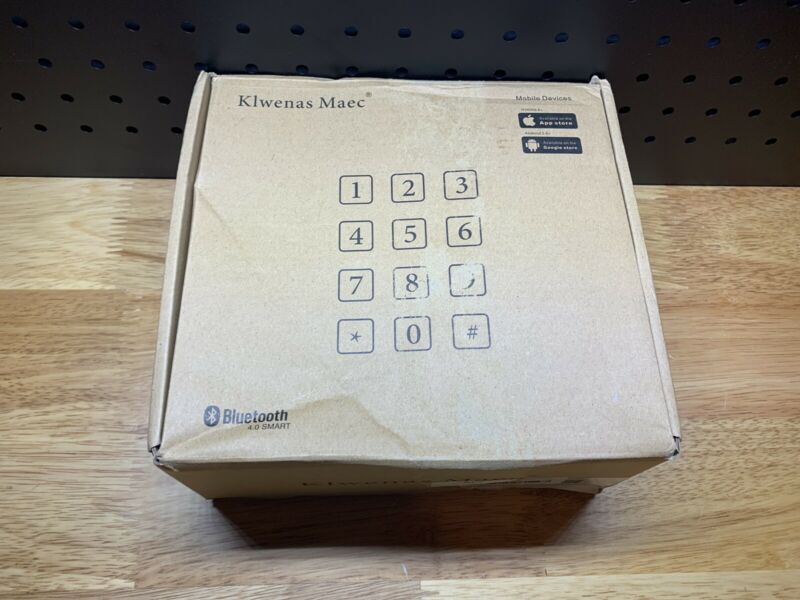 Klwenas Maec Smart Door Lock - D506 - Open Box