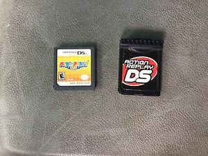 Ds games.