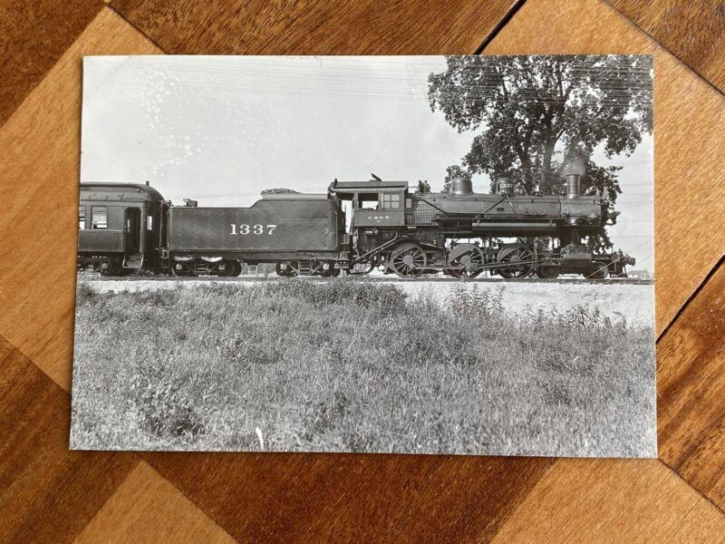 Chicago North Western Railroad Locomotive 1337 Vintage Photo C&NW