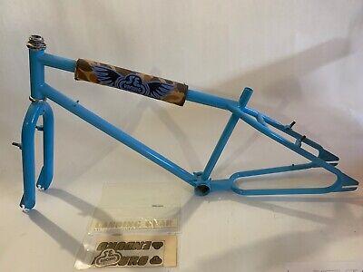NOS Trax 4000 Rad Pad BMX Set 80/'s Old School Yellow Old School Metal Snaps
