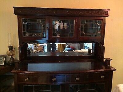 Antique Cabinet Dresser.