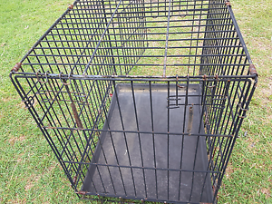 Large collapsible bird cat dog animal cage with tray Ipswich Ipswich Ipswich City Preview