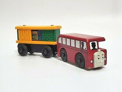 Thomas the Train Bertie Box Car Friends Learning Curve Wooden Railway