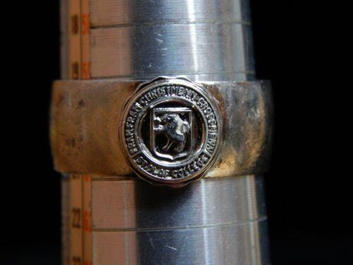 Fram Fram Cristmenn Crossmenn St. Olaf College Sterling Silver Ring 9+